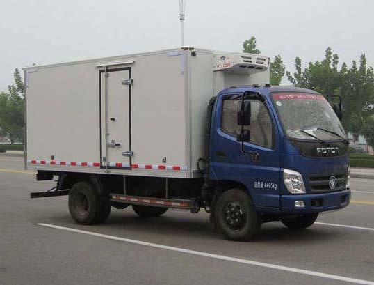 福田牌冷藏車(BJ5079XLC-BA)車廂工藝結構是什么樣的?