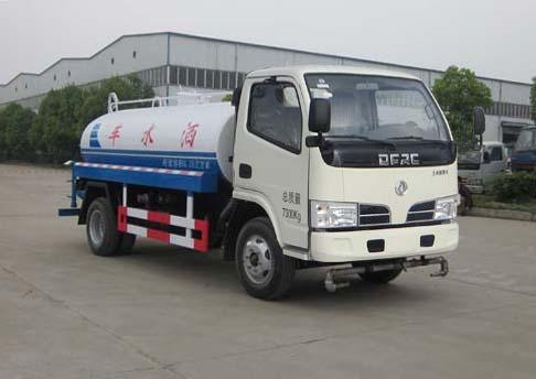 神狐牌5噸灑水車(HLQ5070GSSE)概述及工作原理