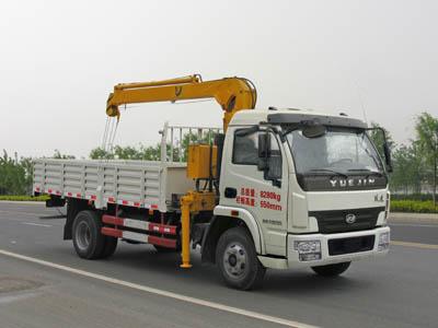 CLW5080JSQN4型随车起重运输车