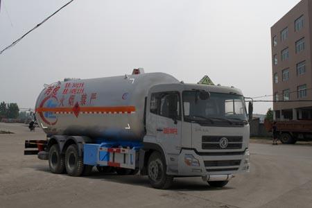 亚博体育官网天龙后双桥液化气体运输车图片