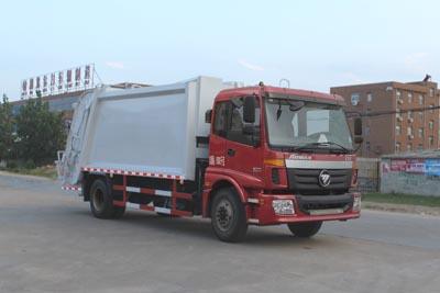 CLW5160ZYSB4型压缩式垃圾车
