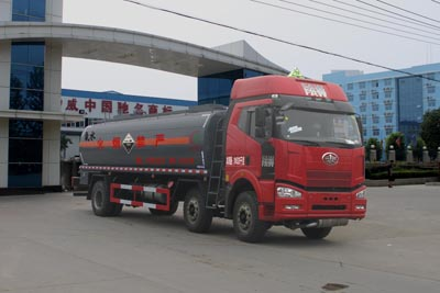 CLW5251GFWC4腐蝕性物品罐式運輸車