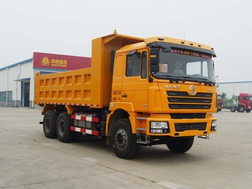 陕汽德龙F3000自卸式垃圾车图片