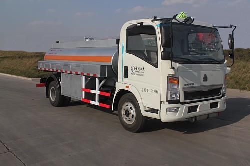 绿叶牌6吨加油车(JYJ5087GJYD)的车型配置分析