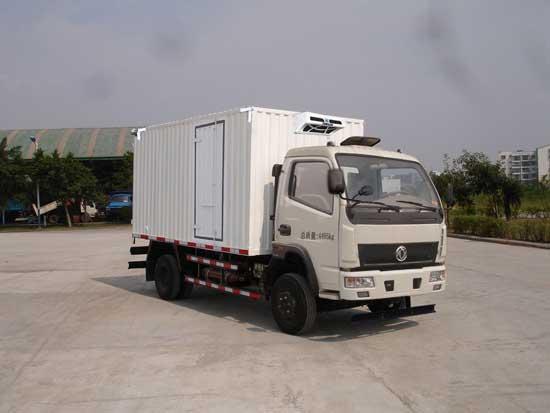 东风天然气动力蓝牌4.2米冷藏车
