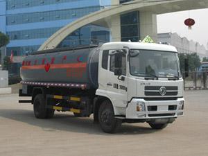 CLW5161GRYD4型易燃液体罐式运输车