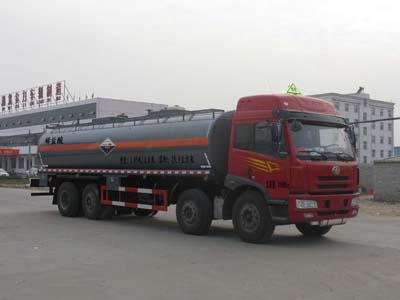 CLW5313GFWC4腐蝕性物品罐式運輸車
