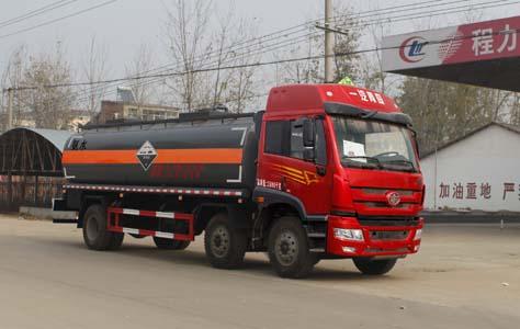 CLW5253GFWC4腐蝕性物品罐式運輸車