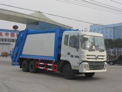 CLW5250ZYST4型压缩式垃圾车