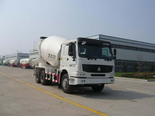 华宇达牌5方混凝土搅拌车(LHY5251GJBZL)全国领先的大架制作工艺