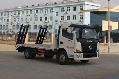 CLW5040TPB4平板运输车,东风劲勇挖掘机运输车