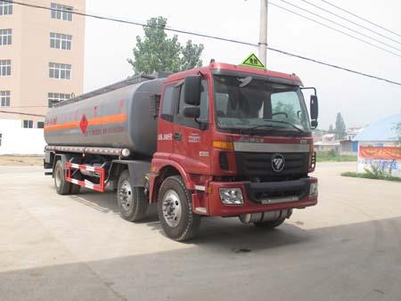 CLW5253GRYB4型易燃液体罐式运输车
