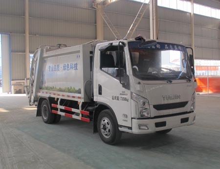 CLW5070ZYSN4型压缩式垃圾车