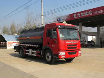 解放10噸鹽酸運輸車
