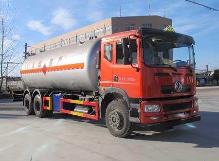 液化气体运输车图片