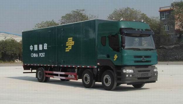 东风柳汽霸龙M5小三轴邮政车图片