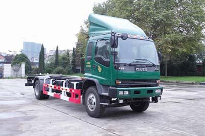 庆铃五十铃FVR重卡车厢可卸式邮政车图片