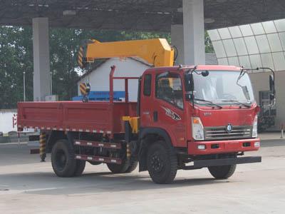 CLW5120JSQZ4型随车起重运输车