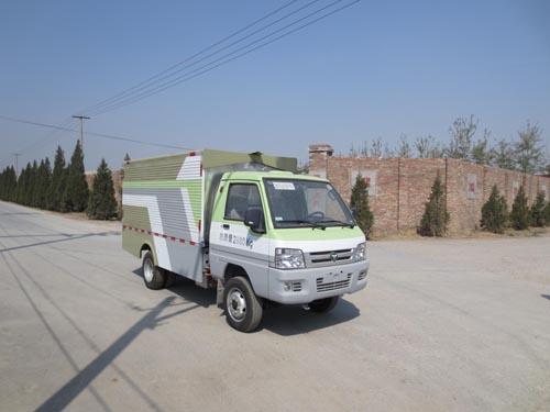 纯电动桶装垃圾运输车图片