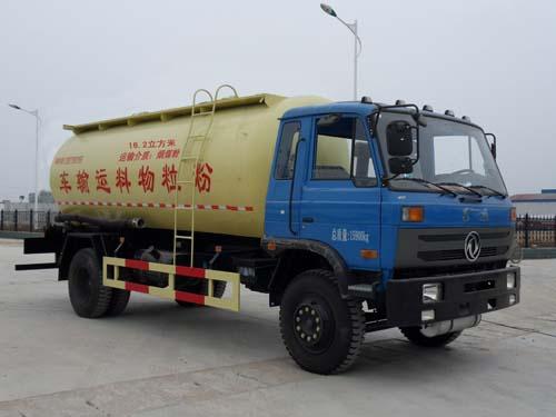 东风17方低密度粉粒物料运输车