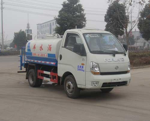 神狐牌2噸灑水車(HLQ5045GSS)車型參數解讀說明