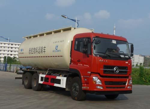 安徽开乐专用车辆AKL5250GFLDFL01型东风天龙后双桥低密度粉粒物料运输车