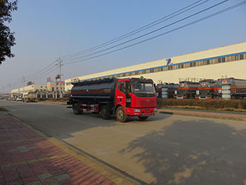 DTA5250GFWCA腐蝕性物品罐式運輸車
