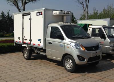 福田伽途汽油小型冷藏车