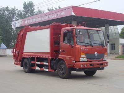 CLW5110ZYST4型压缩式垃圾车
