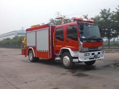 抢险救援消防车正规厂家(AS5135TXFJY86/W),厂家直销