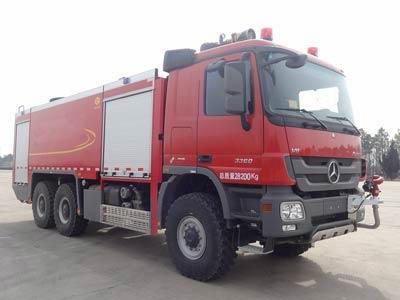 天河机场消防车图片