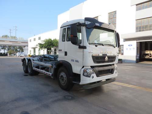 海德牌车厢可卸式垃圾车(chd5252zxxe5)的八大优势