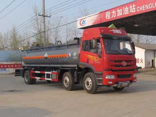 CLW5255GFWC4腐蝕性物品罐式運輸車