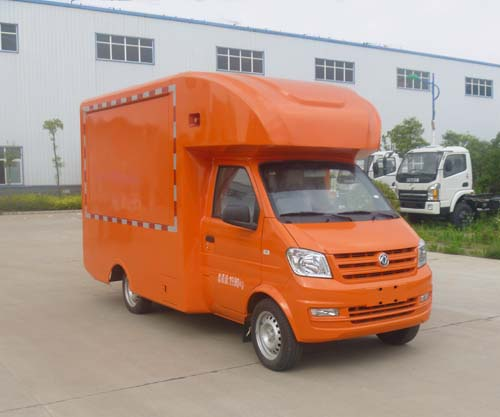 东风小康国五汽油70马力售货车图片