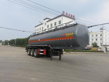 DTA9402GFWA腐蝕性物品罐式運輸半掛車