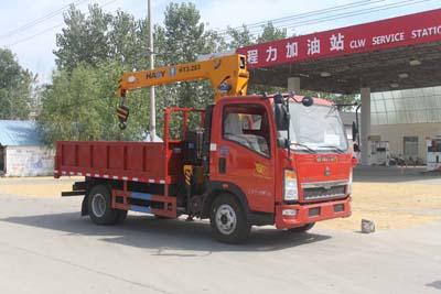 CLW5040JSQZ4型随车起重运输车