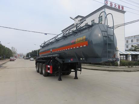 DTA9408GFW腐蝕性物品罐式運輸半掛車