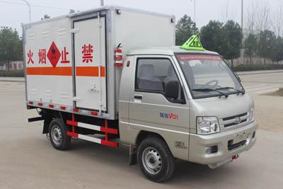 SCS5031XRQBJX型易燃气体厢式运输车