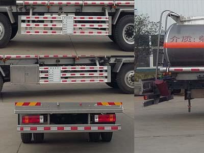 欧曼前四后四铝合金油罐车图片