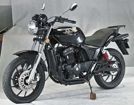 大地鹰王dd250g-2n型两轮摩托车多方位图