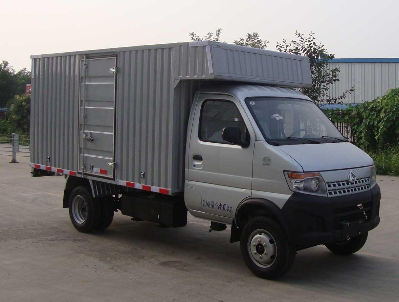 长安牌sc5035xxydbbev型纯电动厢式运输车图片