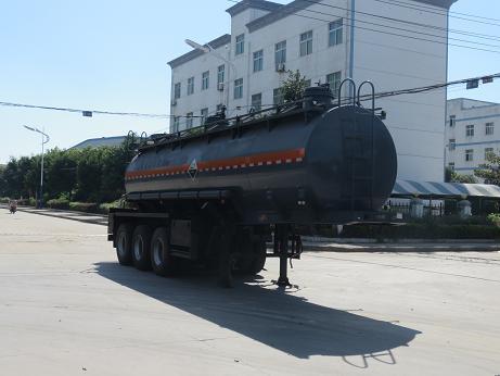 DTA9405GFW腐蝕性物品罐式運輸半掛車