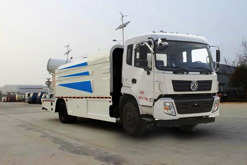东风专底10T水罐配40~60米雾炮多功能抑尘车