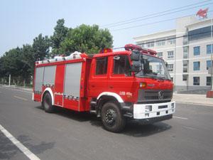 中卓时代5吨水罐消防车
