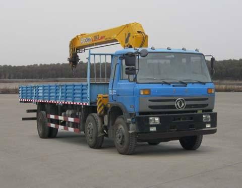 东风牌8吨随车起重运输车图片