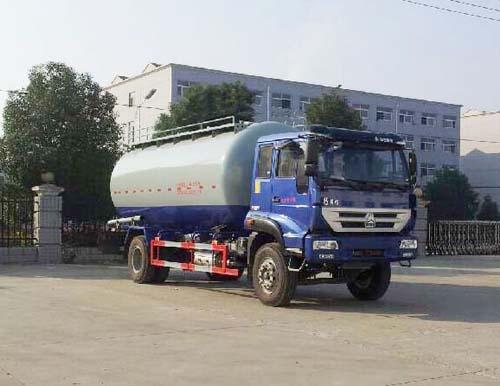 重汽黄河21吨粉粒物料运输车