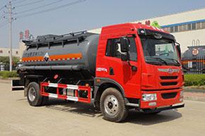 DTA5161GFWC4腐蝕性物品罐式運輸車