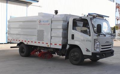 程力威牌CLW5080TSLJ5扫路车