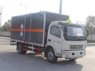 SCS5110XDGEQ型毒性和感染性物品厢式运输车