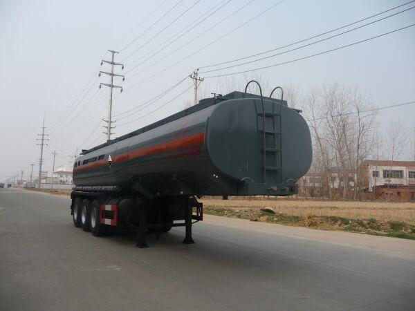DTA9402GFW腐蝕性物品罐式運輸半掛車